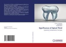 Capa do livro de Significance of Apical Third