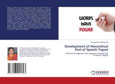 Bookcover of Development of Hierarchical Part of Speech Tagset