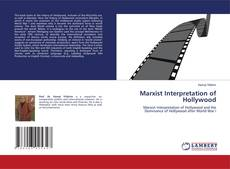 Bookcover of Marxist Interpretation of Hollywood