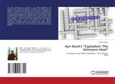 "Обложка Ayn Rand's ""Capitalism: The Unknown Ideal"""