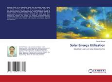 Bookcover of Solar Energy Utilization