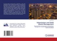 Bookcover of Urbanizaion and Solid Waste Management