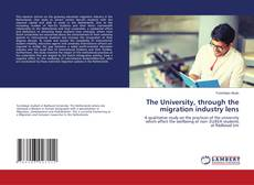 Buchcover von The University, through the migration industry lens