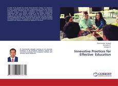 Capa do livro de Innovative Practices for Effective Education