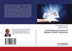 Capa do livro de Contemporary Issues of Modern Arabic Literature
