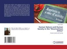 "Borítókép a  Human Nature and Human Society in the ""Nicomachean Ethics"" - hoz"