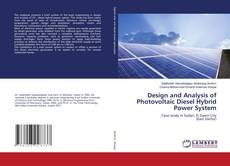 Обложка Design and Analysis of Photovoltaic Diesel Hybrid Power System