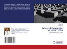 Borítókép a  Advanced Construction Materials Testing - hoz