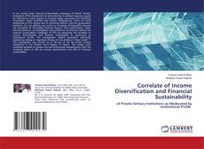 Bookcover of Correlate of Income Diversification and Financial Sustainability