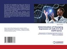 Copertina di Determination of Changing Expression of miR-212 and EGFR Genes