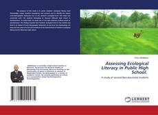 Обложка Assessing Ecological Literacy in Public High School.