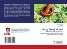 Bookcover of Determination of trace elemental content