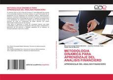 METODOLOGIA DINAMICA PARA APRENDIZAJE DEL ANALISIS FINANCIERO的封面