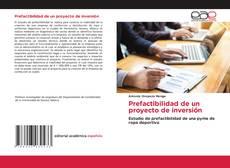 Bookcover of Prefactibilidad de un proyecto de inversión