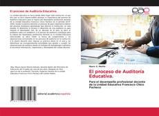 Обложка El proceso de Auditoría Educativa.