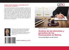 Borítókép a  Análisis de los derechos y garantías de los transexuales en Bolivia - hoz