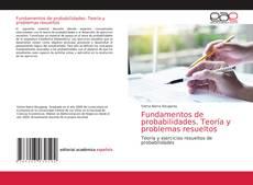 Buchcover von Fundamentos de probabilidades. Teoría y problemas resueltos