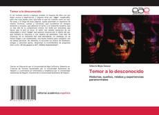 Bookcover of Temor a lo desconocido