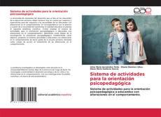 Bookcover of Sistema de actividades para la orientación psicopedagógica