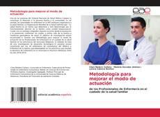 Buchcover von Metodología para mejorar el modo de actuación