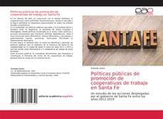Обложка Políticas públicas de promoción de cooperativas de trabajo en Santa Fe