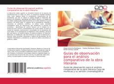 Capa do livro de Guías de observación para el análisis comparativo de la obra literaria