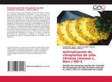 Copertina di Aclimatización de vitroplantas de piña (Ananas comosus L. Merr.) MD-2