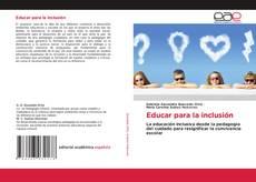 Capa do livro de Educar para la inclusión