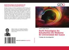 Capa do livro de Perfil Psicológico En Estudiantes De Medicina En Universidad Del Cusco