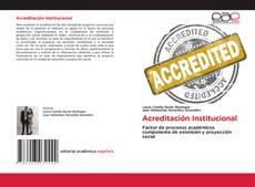 Bookcover of Acreditación Institucional