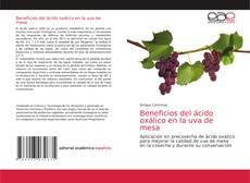 Buchcover von Beneficios del ácido oxálico en la uva de mesa