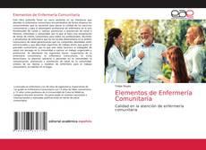 Portada del libro de Elementos de Enfermería Comunitaría