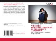 Обложка VIOLENCIA INTRAFAMILIAR REDUCE EL RENDIMIENTO ACADEMICO