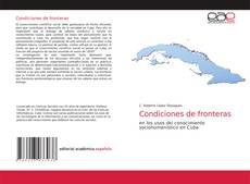 Обложка Condiciones de fronteras