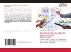 Buchcover von Rendición de cuentas de los municipios sonorenses
