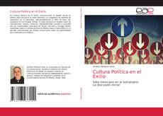 Buchcover von Cultura Política en el Exilio