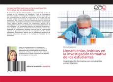 Couverture de Lineamientos teóricos en la investigación formativa de los estudiantes