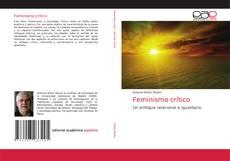 Buchcover von Feminismo crítico