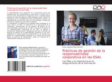 Buchcover von Prácticas de gestión de la responsabilidad corporativa en las ESAL