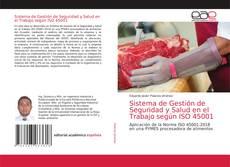 Buchcover von Sistema de Gestión de Seguridad y Salud en el Trabajo según ISO 45001