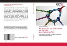 Portada del libro de El éxito de las empresas de familia puertorriqueñas