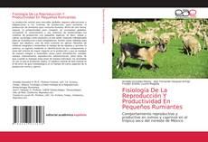 Capa do livro de Fisiología De La Reproducción Y Productividad En Pequeños Rumiantes