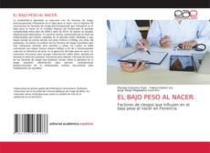 EL BAJO PESO AL NACER.的封面