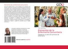 Portada del libro de Elementos de la Enfermería Comunitaria