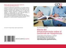 Bookcover of Efecto del almacenamiento sobre el contenido de fitoquímicos