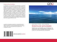 Bookcover of Sistema de actividades