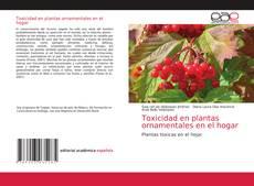Bookcover of Toxicidad en plantas ornamentales en el hogar