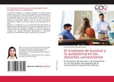 El síndrome de burnout y la autoestima en los docentes universitarios的封面