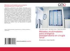 Bookcover of Métodos multimodales para analgesia postoperatoria en cirugía renal