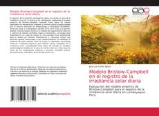 Copertina di Modelo Bristow-Campbell en el registro de la irradiancia solar diaria